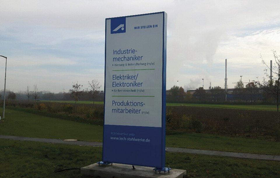 Werbeanlagen Augsburg