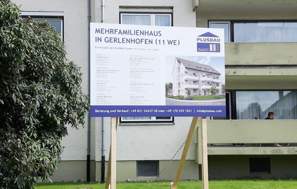 Bautafel Gerlenhofen