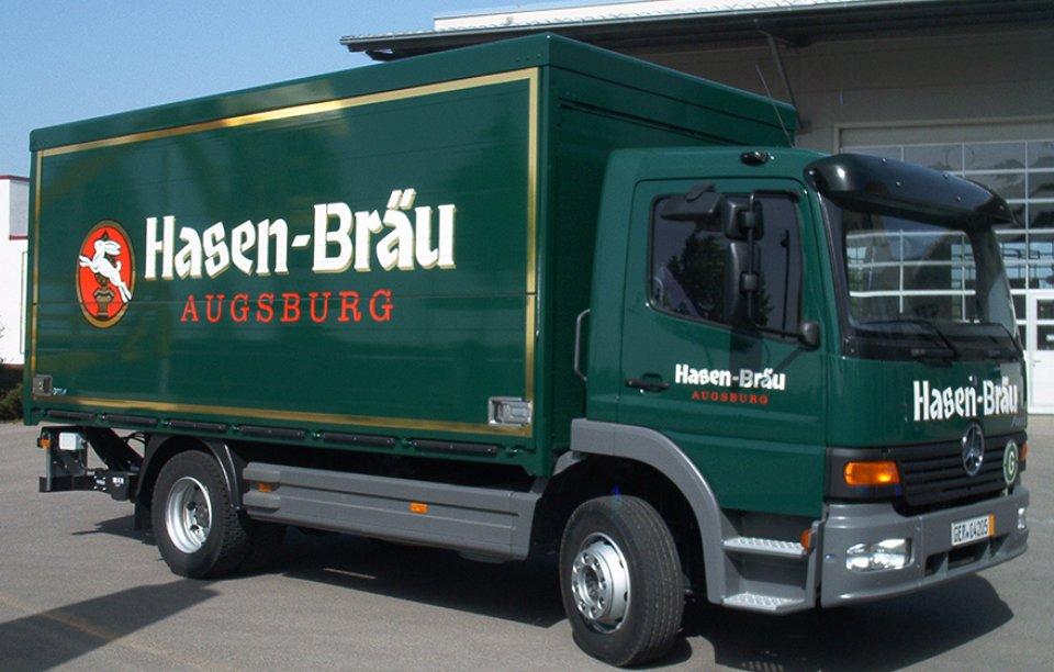 LKW-Beschriftung Augsburg
