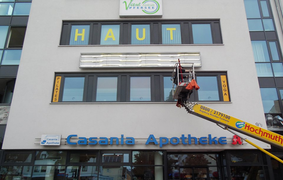 Werbetechnik Augsburg